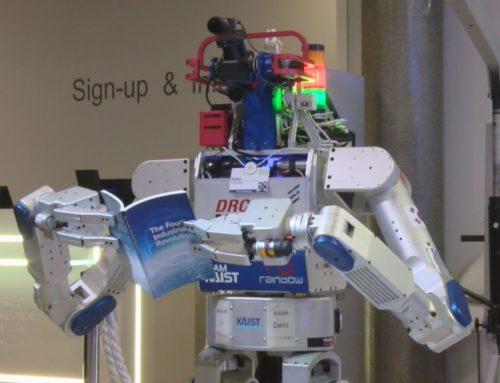 WEF 2016: Roboter Hubo hat noch viel vor