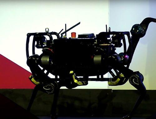 """Swiss Innovation Forum 2016: """"Laufroboter kann sich selbst ausbalancieren"""""""