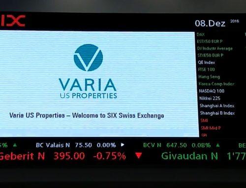 """Varia-IPO: """"Freude über Investoren-Vertrauen"""""""